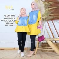 Baju Atasan Ibu &Anak Muslim Tunik Reva Couple