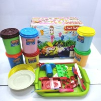 Mainan playdough anak LD01-G