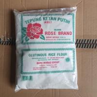 tepung ketan putih / tepung pulut ROSE BRAND