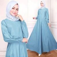 promo gamis polos / gamis syari katun jepang / baju muslim fashionable