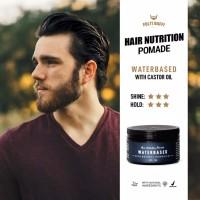 Pomade Waterbased Hair Nutrition Folti Baffi HALAL BPOM Asli Indonesia