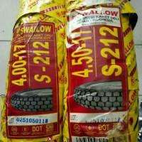 Paketan Ban Swallow 400-17 dan 450-17 Wiro S212 Tanpa Ban Dalam