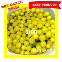 1KG ANGGUR BOGOR SEGAR / MANISAN ANGUR HIJAU FRESH / GREEN GRAPE FRUIT