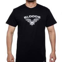 BLOODS TShirt Kaos Bat 10 Black - S