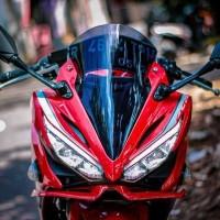 AKSESORIS visor cbr 150 k45g winglet cbr 150 Facelift k45g visor