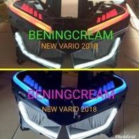 Headlamp lampu reflektor komplit vario 125/150 new 2018 alis