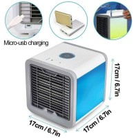 Ac Mini Portable Artic Air Cooler Fan Kipas Ac Ultra USB Ac Kecil