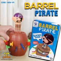Mainan Tong Bajak Laut / Pirate Roulette with spin model unik
