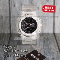 TERLARIS !!! Baby-G Shock BA-110 Trasnparan Jam tangan wanita & anak