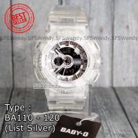 TERMURAH !!! Baby-G Shock BA-110 Trasparan Clear Jam tangan wanita