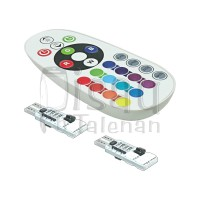 T10 Lampu LED Senja RGB & Remote