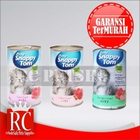 Makanan Kucing Anak Kucing Snappy Tom Baby Kitten Kaleng 400 gram