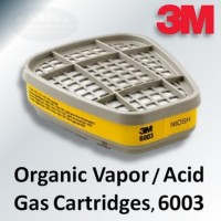 filter 3m respirator seri 6003 Avid and bapor original gas cartridges
