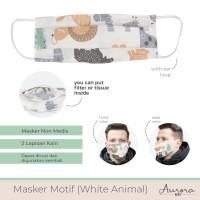 Aurora Baby Masker Dewasa / Adult Mask