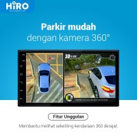 Hiro Eagle 360 Kamera - 3D Video - Surround Camera with HD Quality