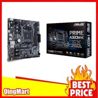 Asus PRIME A320M-K (AM4, AMD Promontory A320, DDR4, SATA3) NEW