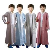 Baju Koko Gamis Anak Fayrany FKG-005 Size 1 - 6 - maroon, 0-1 tahun