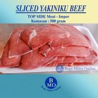 SLICE BEEF / DAGING IRIS IMPOR AUS - Per 500 GRAM