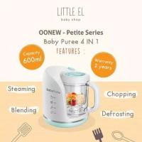 OOnew Baby Puree Petite Series 4in1 Baby Food Processor / Blender
