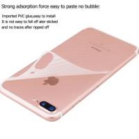 Garskin Carbon iPhone 7 Anti gores Belakang handphone Back Door