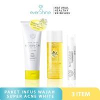 Evershine Paket Infus Wajah Super Acne White