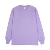 PRIME - Heavy Weight LS Crewneck T-Shirt - Purple