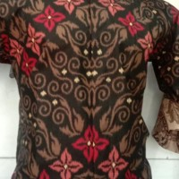Baju Kemeja Batik Keris Pria Lengan Pendek Penggarisshop