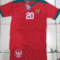 Best Seller Baju Bola Timnas Indonesia Anak
