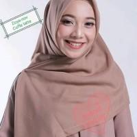 Promo Zoya Hijab Segiempat Polos Original/Kerudung/Jilbab/Scarf