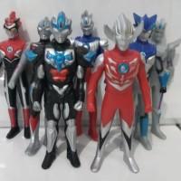 Best Seller Figure Figur Ultraman Bahan Full Karet Robot Ultraman Orb