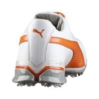 Sepatu Golf PUMA TITAN TOUR IGNITE White Oranye ORIGINAL