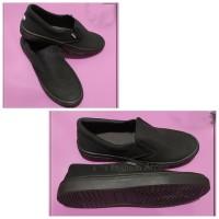 Sepatu Slip On Vans Pria Sepatu Kasual Cowok Sepatu Sekolah SMA Hitam