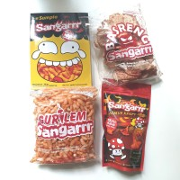 Paket Keripik Sangarrr Pedas Gila Khas Bandung (Gurilem, Basreng, Sump