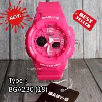 JUAL RUGI !!! Baby-G Shock BGA-230 Full Pink Jam tangan wanita & anak