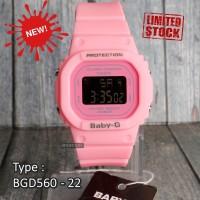 PALING LAKU !!! Baby-G Shock BGD-560 Pink Jam tangan digital wanita