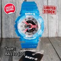 CUCI GUDANG !!! Jam tangan baby-G BA-110 Biru digital pria & wanita