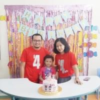 BEST SELLER, Kaos/Baju COUPLE ULANG TAHUN Ayah,Ibu,Anak, LOL SURPRISE.