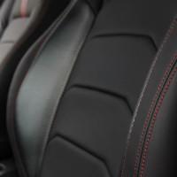 Sarung Jok Mobil NISSAN MARCH Bahan MYO LEATHER Otomotifku Berkualitas