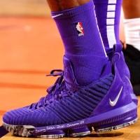 Sepatu Basket Nike Lebron 16 Purple Premium Original