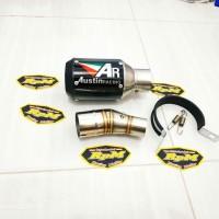 Knalpot Austin Racing GP1R Slip On NINJA 250 FI - R25 - MT25