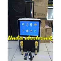 new Layar Speaker Portable LED 15inch TOATECH AUDIO PROFESIONAL JAPAN