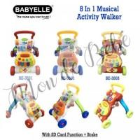 baby elle push walker / activity walker
