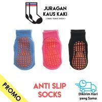 Kaos Kaki Anak Gel Anti Slip Socks Panjang Pendek Semata Kaki Katun