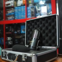 Alctron R77 Ribbon Microphone Recording Podcast Zoom Cover Lagu ASMR