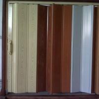 pembatas ruangan pvc / pintu folding door plastik Pintu Penyekat