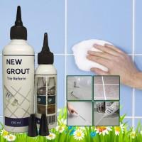 Pengisi Nat Keramik Ubin Lantai Dinding New Grout Reform 100ml