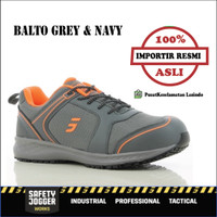 Sepatu Safety Jogger / Safety Shoes / Balto Navy or Grey - 39