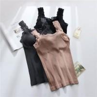 Ready Kaos Dalam Bra BH Dalaman Tanktop Wanita Renda / Tank Top