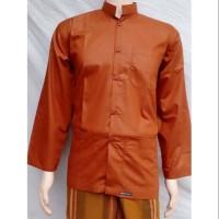 Ready Baju Koko Habib Model Polos Elegan Barang Bagus Dan Nyaman
