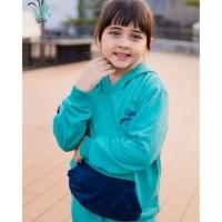 Setelan Training Olahraga Anak Perempuan Laki 3-12y. Baju Tidur Anak